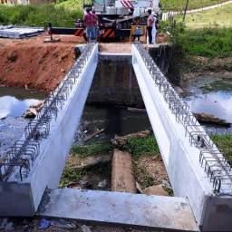 Prefeitura de Gandu inicia obra de construção da nova ponte