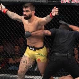 Elizeu Capoeira luta em casa e enfrenta Alexey Kunchenko no UFC Brasília