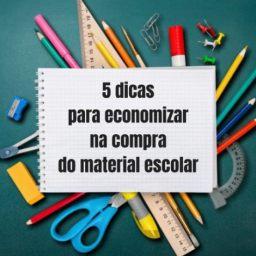 Material Escolar: 5 dicas para economizar