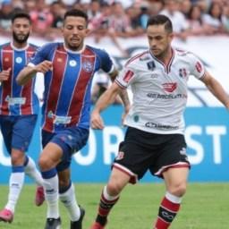 Copa do Nordeste: Bahia empata sem gols com o Santa Cruz