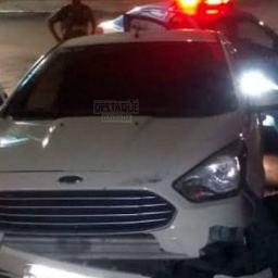 Homem rouba carro e tem infarto fulminante durante perseguição policial