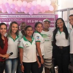 Piraí do Norte: CRAS realiza ação em alusão a 1ª Semana Nacional de Prevenção a Gravidez na Adolescência