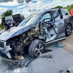 Prefeito de Jacobina se envolve em acidente na BR-324