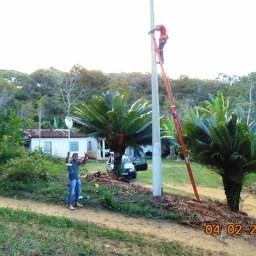 Prefeitura avança com iluminação pública na zona rural de Piraí do Norte
