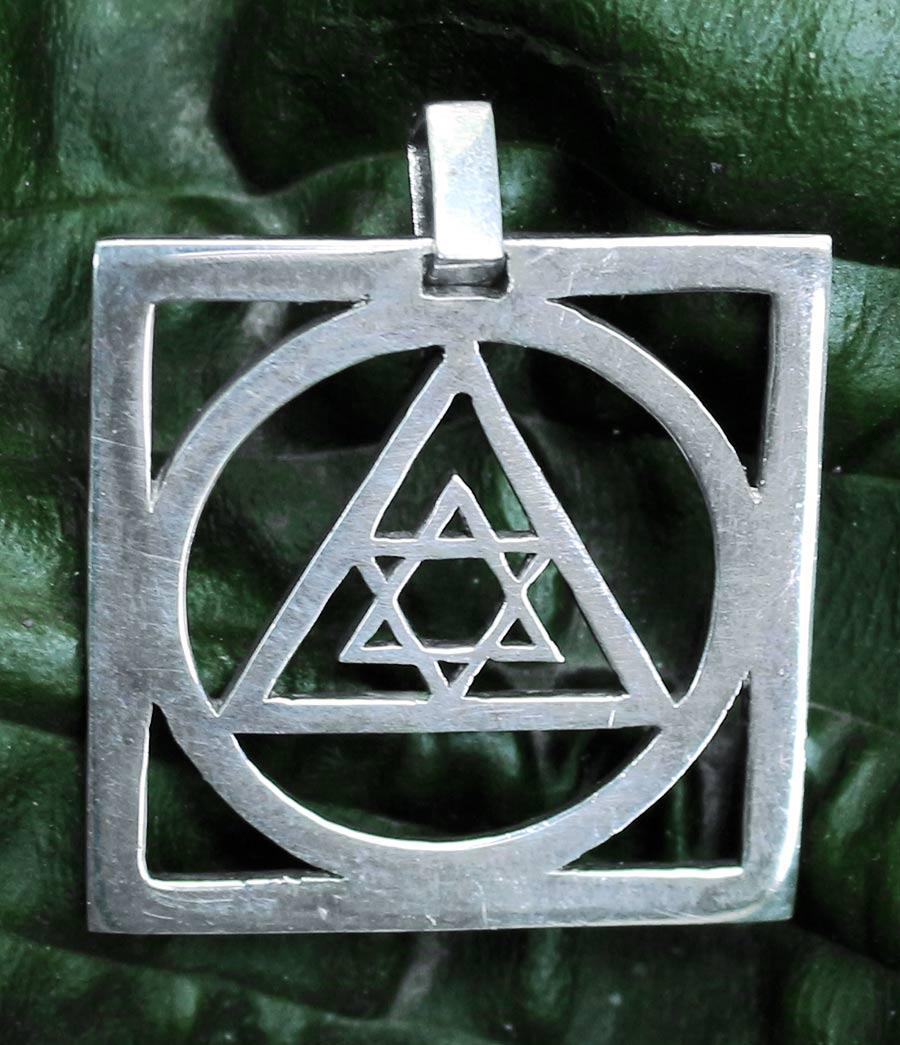 Davidstern Silber Anhnger  Ganesha Online Shop