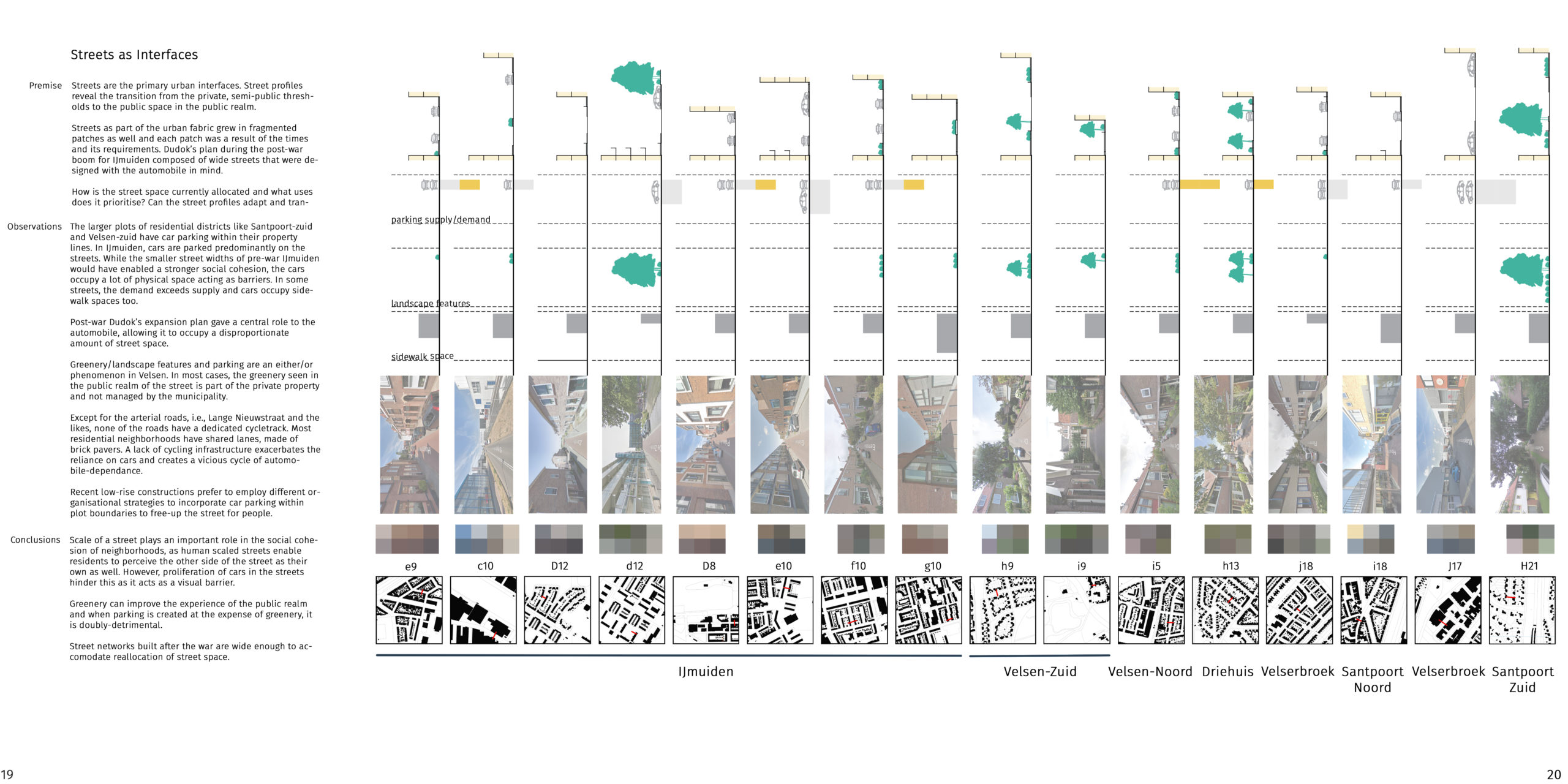 streets as interfaces