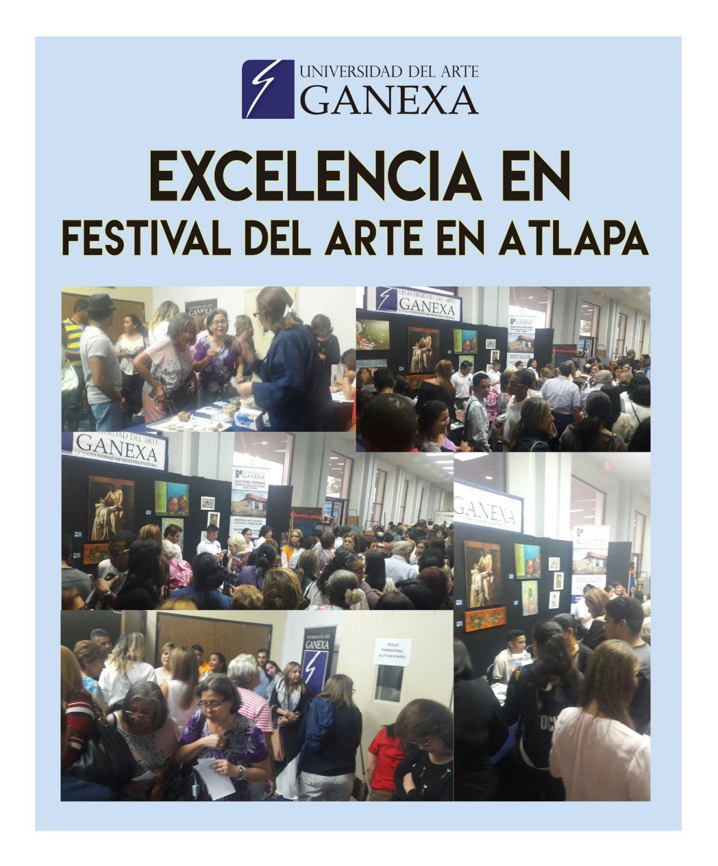 Ganexa Festival de Arte en Atlapa