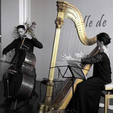 Mathieu Petit et Anne Le Roy. Crédit photo: Anne-Sandrine Di Girolamo