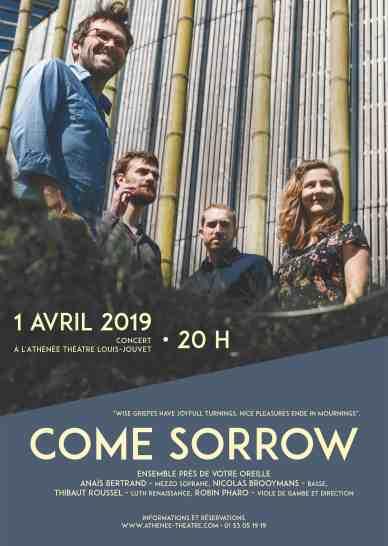 Come Sorrow Athénée