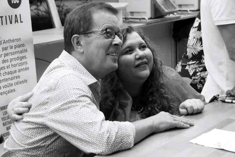 René Martin et Plamena Mangova