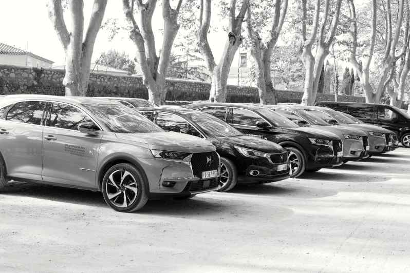 voitures La Roque d'Anthéron