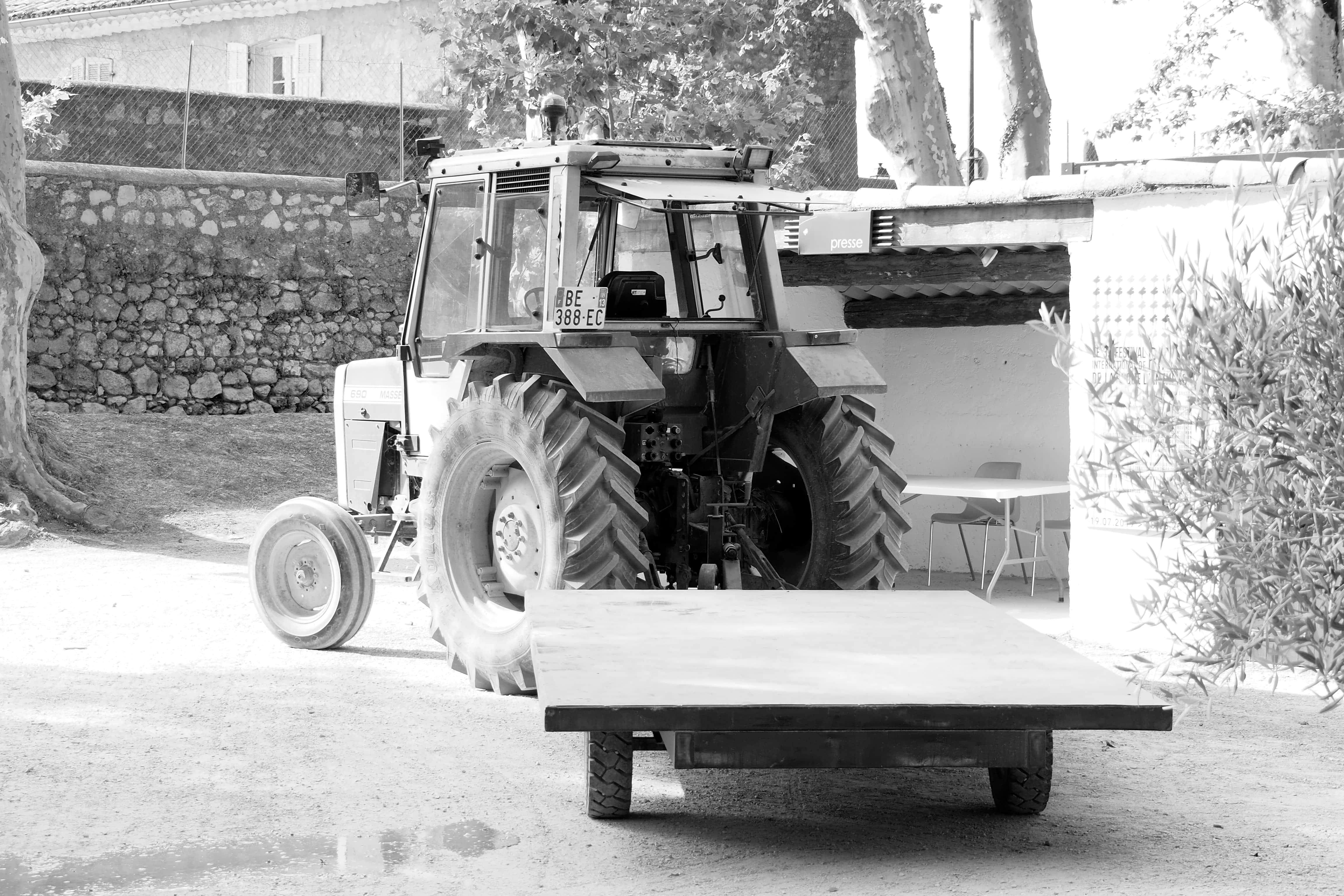 tracteur à piano