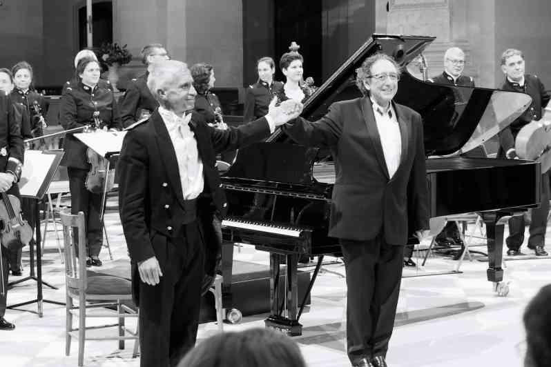 François Boulanger et Jean-Marc Luisada. Invalides