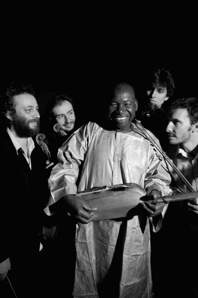 Le Quatuor Béla et Moriba Koïta.
