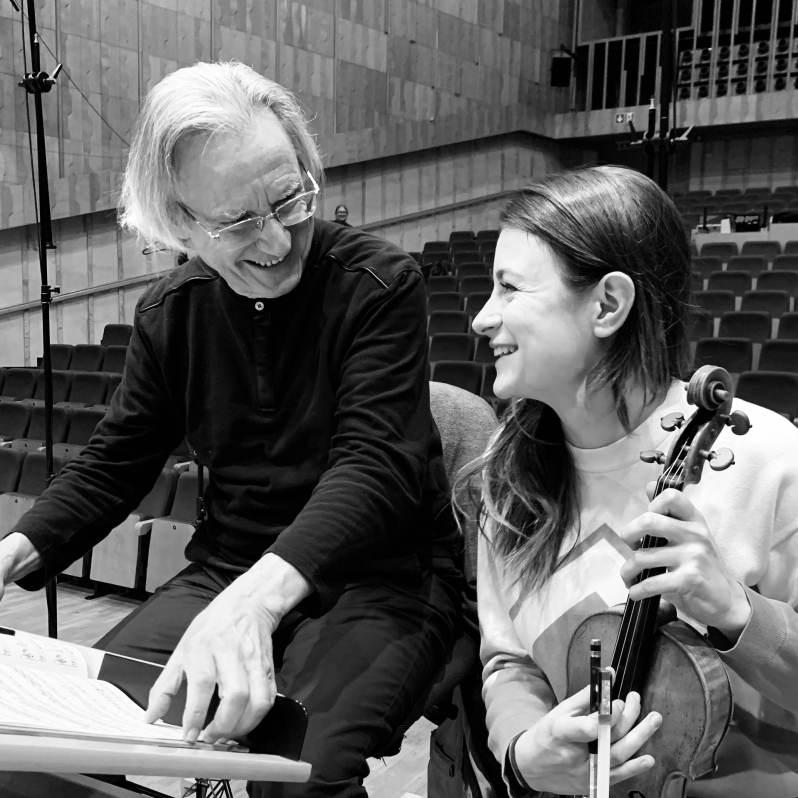 Liya Petrova et Jean-Jacques Kantorow