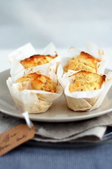 muffins comté bacon - gang of mothers