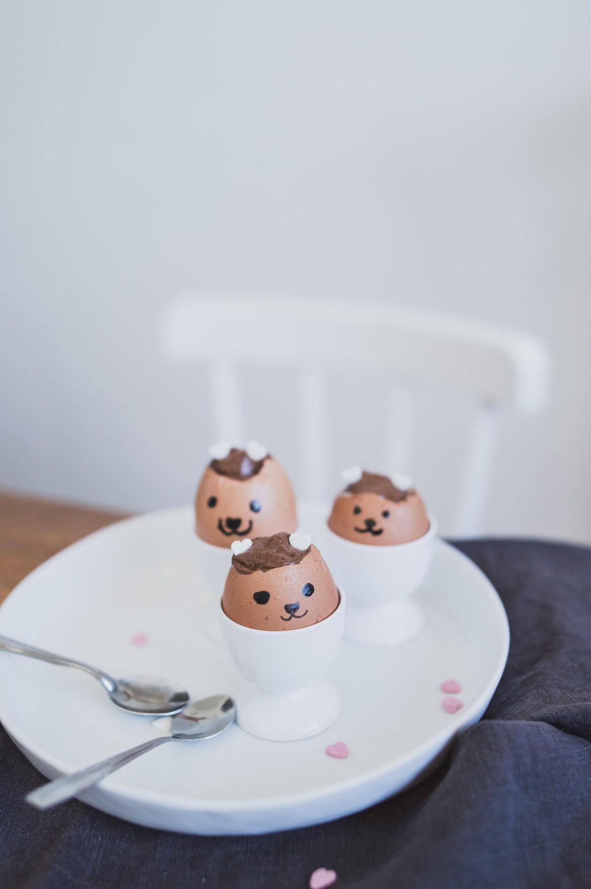 oeufs de Pâques trop mignons