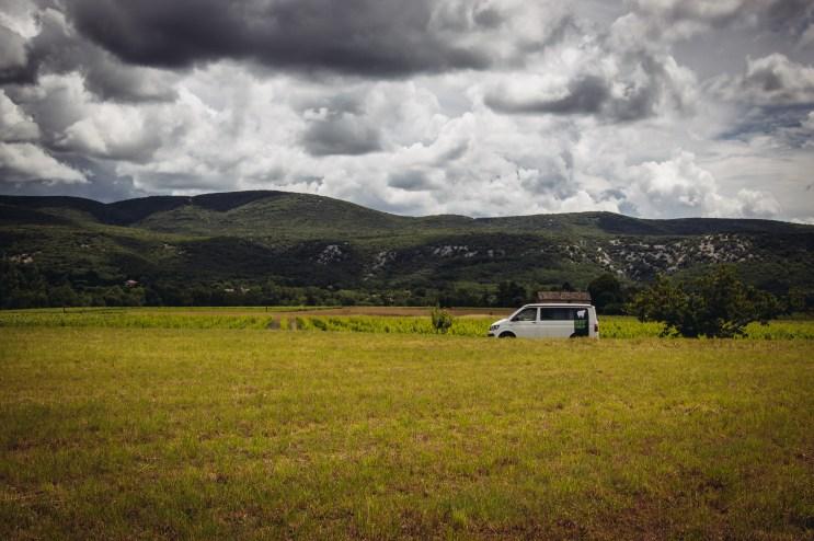 Road Trip Van en Ardeche with BlackSheep Van Sylvie Schneider