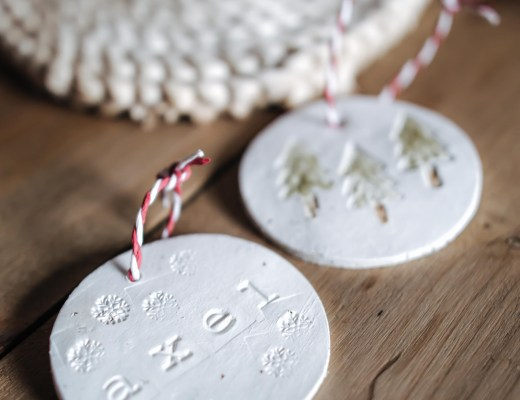 DIY décorations de noël