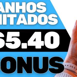 APP paga $5,40 sem Limites | Ganhar Dinheiro com CPA | Vendedor Global