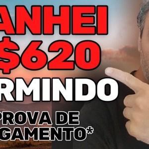 APP PAGOU R$620 SEM FAZER NADA DORMINDO | VENDEDOR GLOBAL