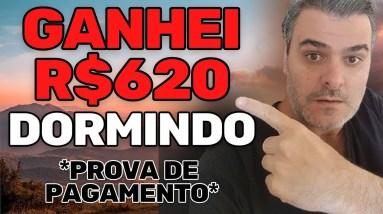 APP PAGOU R$620 SEM FAZER NADA DORMINDO   VENDEDOR GLOBAL