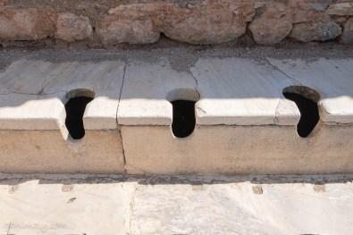 3000年前のトイレ