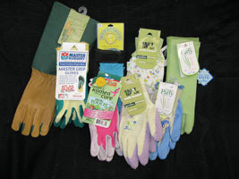 Garden Hand Tools and Gloves