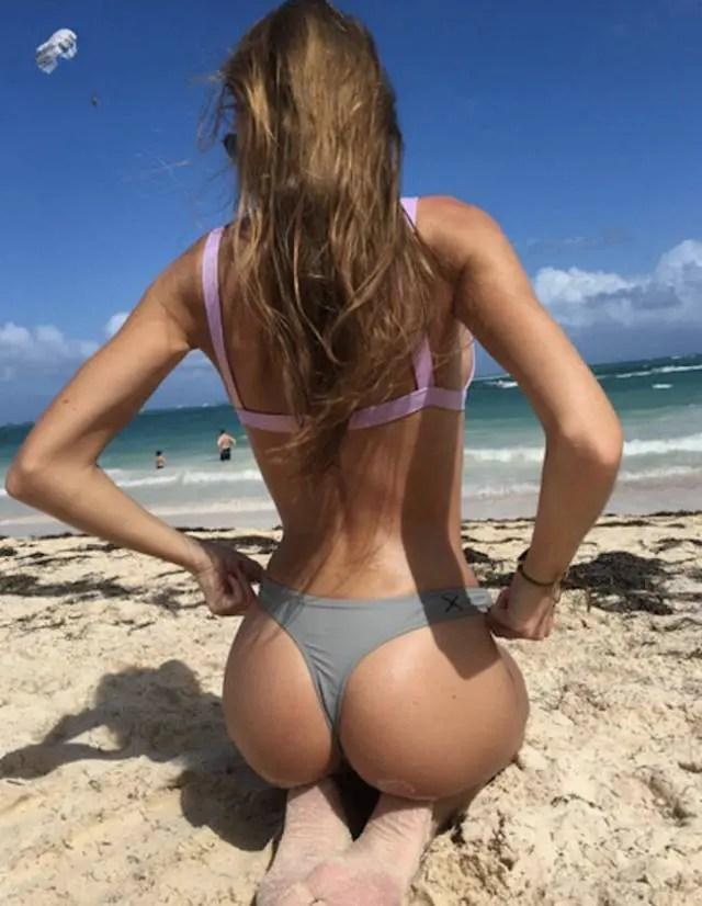 海外のビーチってこんなお姉さんばっかりなのか? だったら行きたいよ。