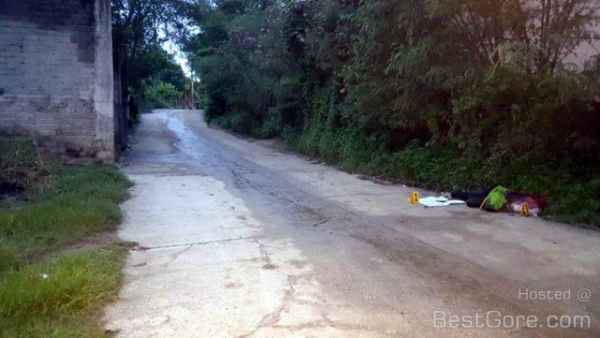 【閲覧注意】 メキシコの道端に捨てられていた首の無い女性・・・
