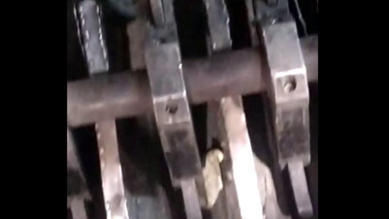 【閲覧注意】 工場で機械に巻き込まれて最悪の結果になった作業員。