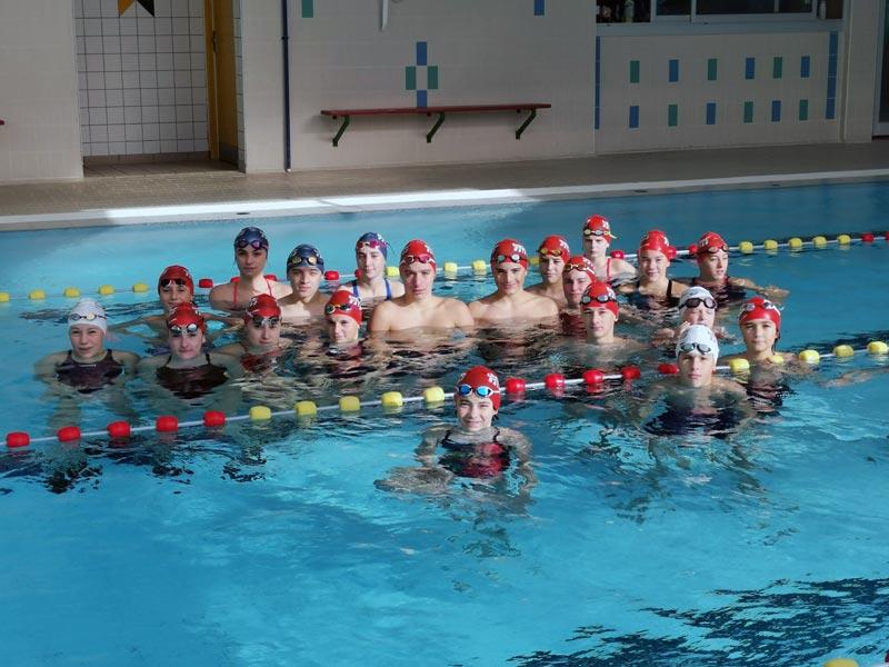 nageurs groupe CHA Comp SA