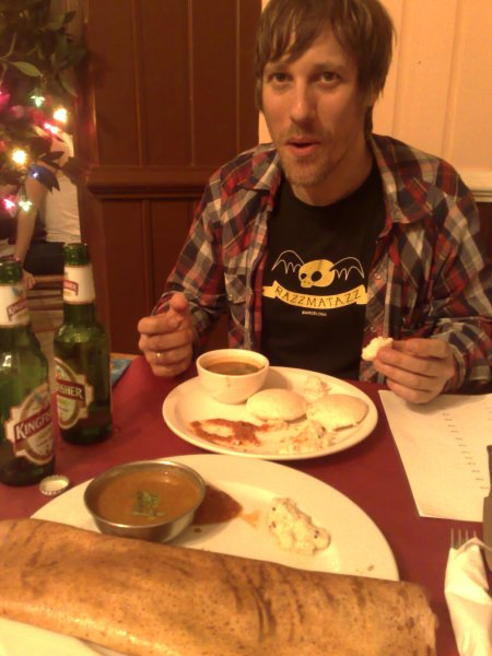 dosa and iddly dude