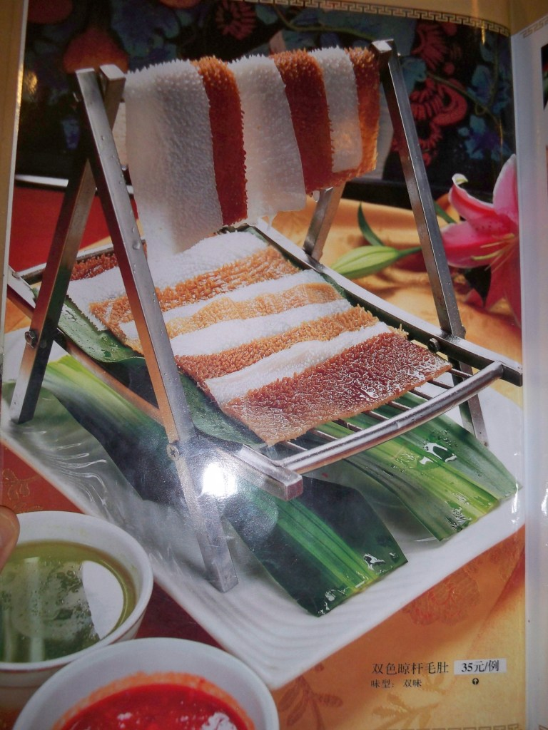 Tripe deckchair