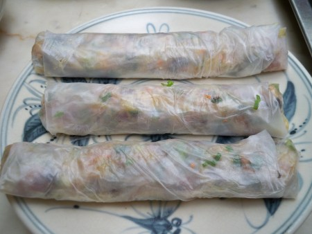 Fresh Rolls with Ca Nuong