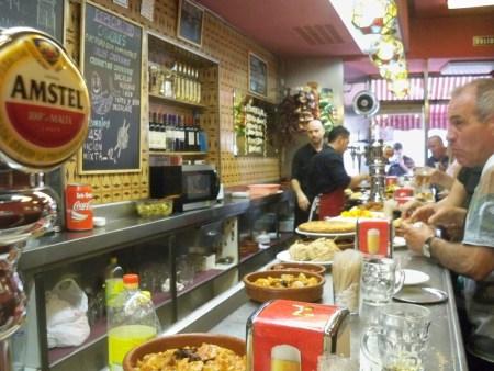 Bar at Los Caracoles