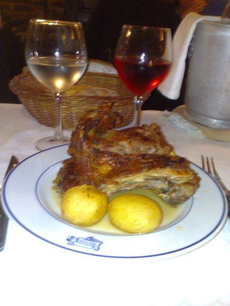roast lamb & potatoes