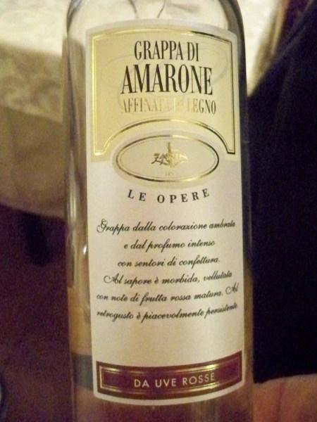 Amarone Grapppa Riserva
