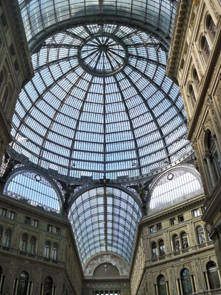 Galleria Umberto roof