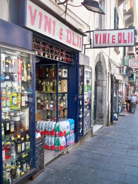 Wine and oil shop