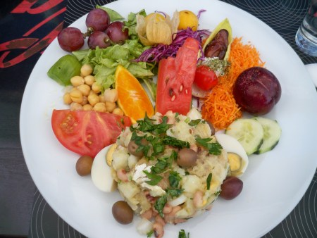 Bacalao Salad