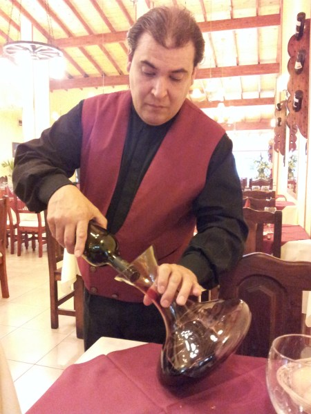 Armando at work