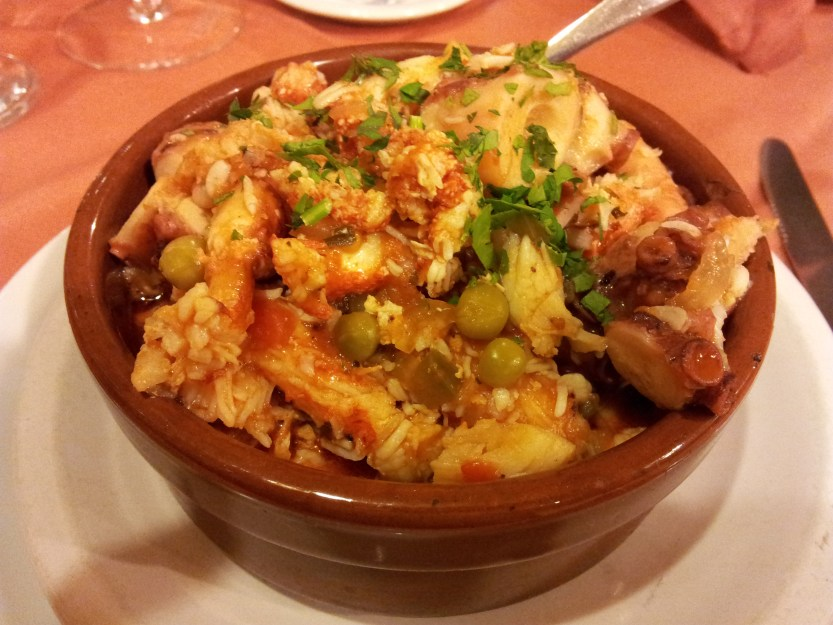 Crab cassoulet