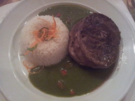 Filete al Cilantro