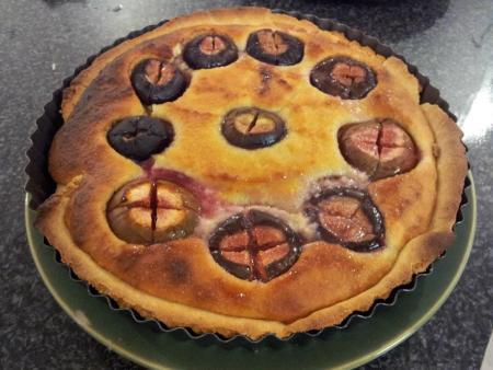 Fig & Franzipan tart