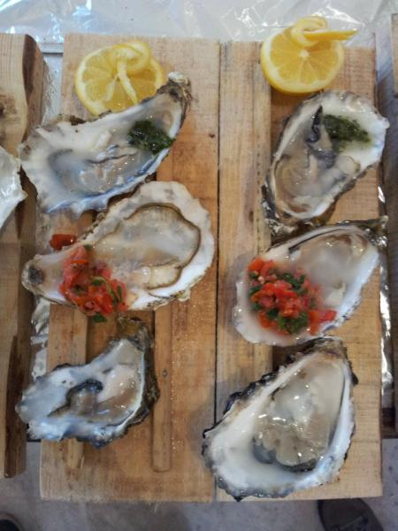 Oi oi oysters