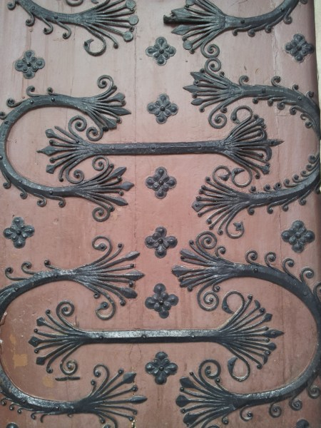 Catherdral door