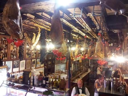 Wine museum interior