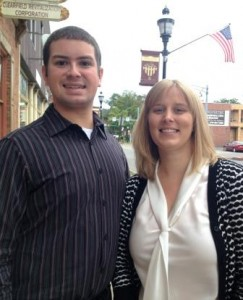Chris Renaud and Heather Bozovich of the CRC (Provided photo)