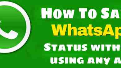 WhatsApp status saver